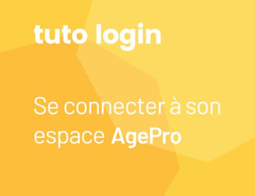 Se connecter facilement 脿 son espace AgePro